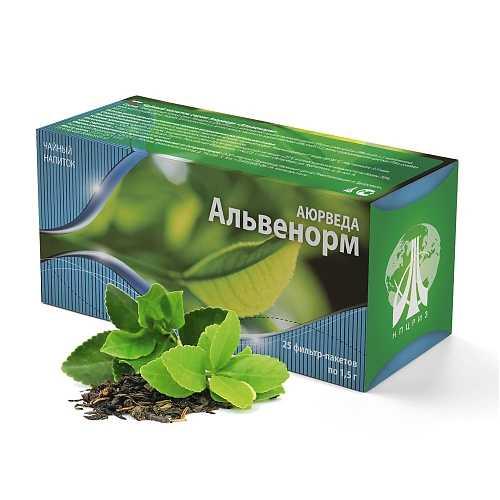 Купить Alvenorm чай при бронхите
