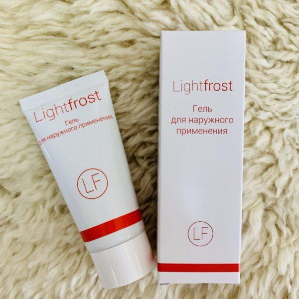 Lightfrost гель анестезия для косметологии, 30 мл